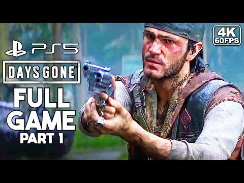(New) Days gone gameplay walkthrough ps5 4k 60fps part 1 [full game] - no commentary