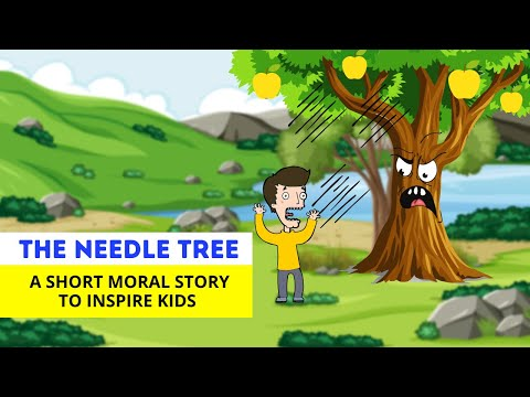 (Ver Filmes) The needle tree | short moral story | moral stories for kids