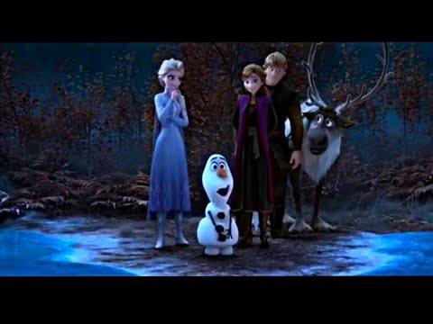 (New) Frozen 2 olaf tells story about frozen