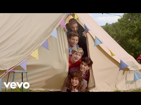 (New) One direction - live while were young (official 4k video)