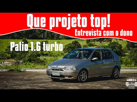 (New) Palio 1.6 turbo: entrevista