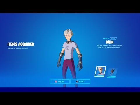 (New) How to get new orin skin in fortnite!