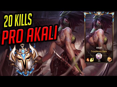 (VFHD Online) Challenger akali pro guide for beginners in wild rift