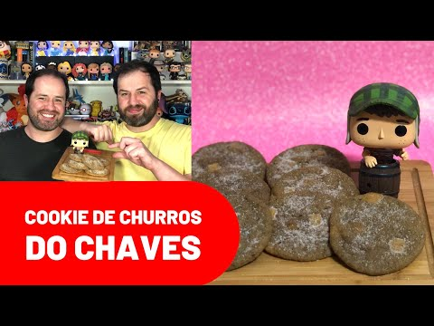 (New) #308 cookie de churros do chaves