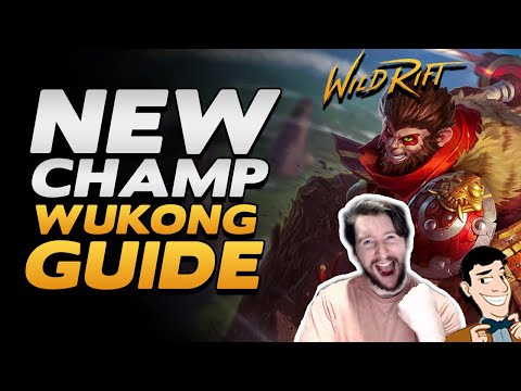 (VFHD Online) Wukong guide (items, runes + abilities) for wild rift + ranked wukong jungle gameplay! wr guides