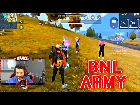 (New) Bnl meets his fans in a match | #bnlarmy