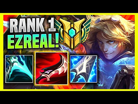(New) The rank 1 ezreal in korea show you why this is the best ezreal build! | kr soloq patch 11.7
