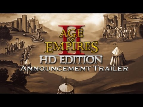 (New) Age of empires ii hd edition announcement trailer (1080p)