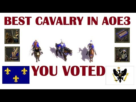 (New) Best cavalry in age of empires iii