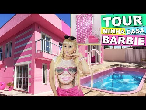 (New) Room tour my real barbie dreamhouse 🎀 minha casa da barbie de verdade