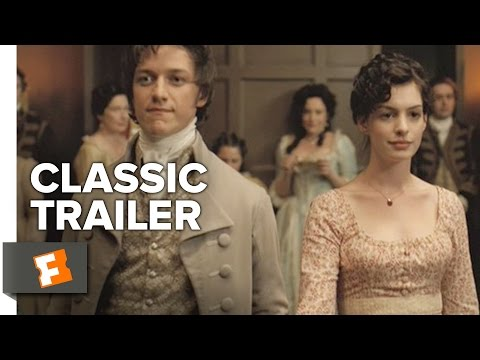 (New) Becoming jane (2007) official trailer - anne hathaway, james mcavoy movie hd