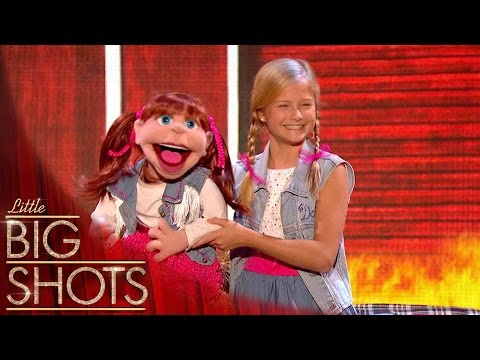 (New) Darcis duet blows the audience away   little big shots