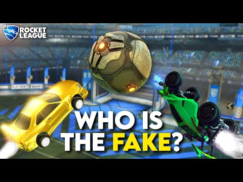 (New) 6 freestylers vs 2 fake freestylers (rocket league odd man out)