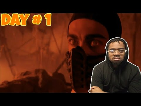 (New) Johnny cage vs scorpion | mortal kombat reaction!!!