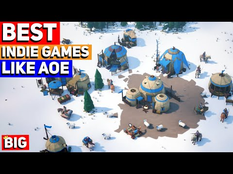(New) Top 10 best indie games like age of empires (rts indie games!)