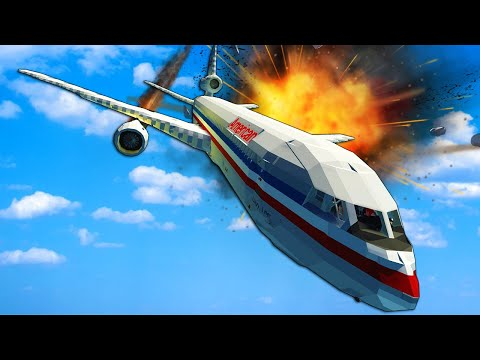 (New) Plane crash survival with spreadable fire! - stormworks multiplayer gameplay 1.0 update
