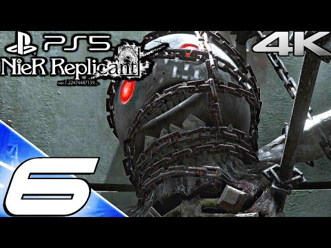 (New) Nier replicant ps5 gameplay walkthrough part 6 - halua boss e emils sacrifice (4k 60fps) full game