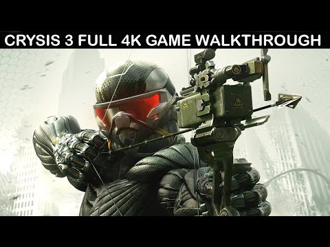 (New) Crysis 3 full game walkthrough - no commentary (4k 60fps)