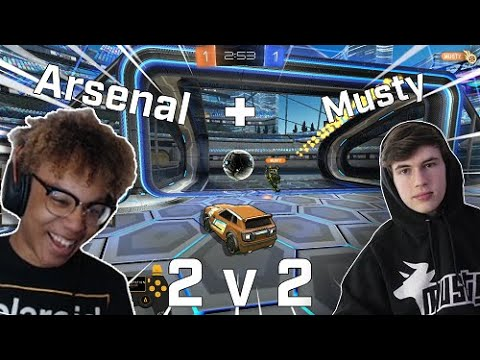 (HD) Intense 9 minute ot with amustycow! | can we get our revenge!?| supersonic legend 2v2