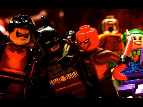 (New) Lego batman - under the red hood