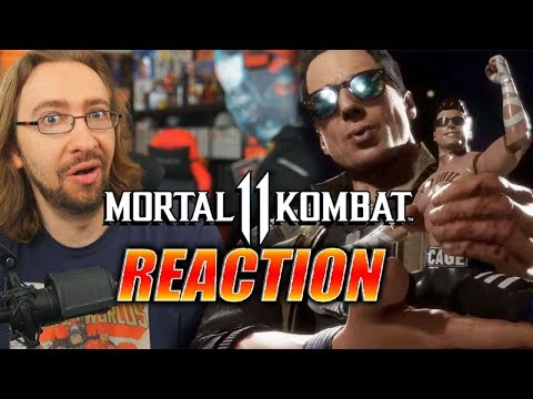(New) Max reacts: johnny cage reveal | mortal kombat 11