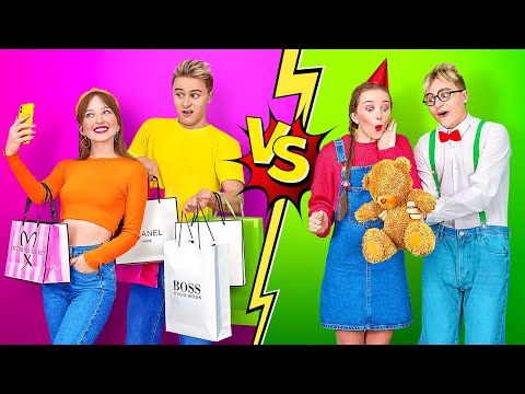 (HD) High school you vs child you    types of students in school by 123 go!