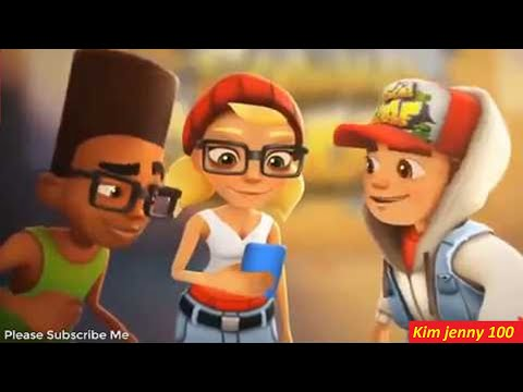 (New) Subway surfers official trailer - this is best cartoons subway surfers 2020 gameplay pc hd - kim 100