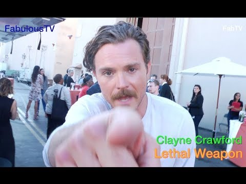 (New) Clayne crawford talks about his comedy on lethal weapon on fox