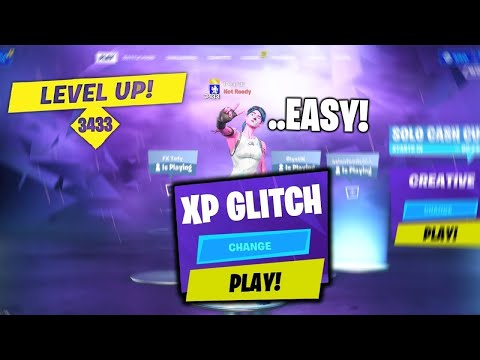 (HD) 50,000 xp per match | new xp gain trick! - season 4 (fortnite xp glitch!)