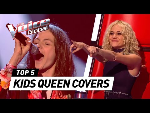 (New) Amazing queen covers in the voice kids