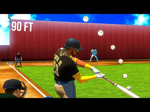 (New) Whats the shortest possible home run in mlb the show 21?