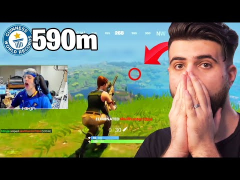(VFHD Online) Reacting to the greatest snipes in fortnite history...