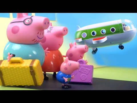 (Ver Filmes) Peppa pig official channel | peppa pigs surprise holiday | peppa pig stop motion