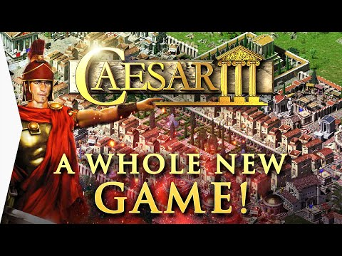 (New) All new gameplay! ► caesar 3 mini monuments, culture e sentiment update - augustus 3.0 mod preview