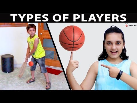(New) Types of players #fun types of games kids play | aayu and pihu show