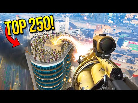 (New) Top 250 insane moments in warzone