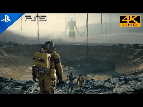 (New) Conundrum [ps5 uhd 4k] next-gen ultra realistic graphics playstation 5 death stranding gameplay