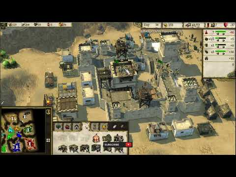 (New) Stronghold crusader 2 multiplayer | is that hard or easy to play | tat vs 7 wolf | part 1