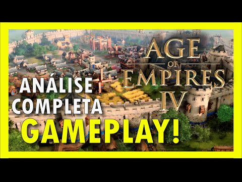 (New) Age of empires 4 - análise completa de gameplay - fan preview - trailer [pt-br]