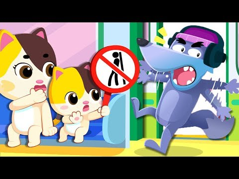 (Ver Filmes) No no subway safety song | play safe song | nursery rhymes | kids songs | playground song | babybus