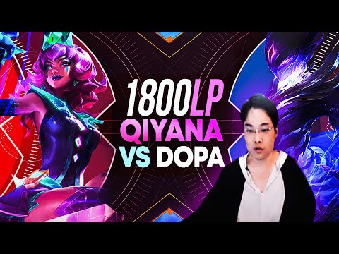 (New) 1800lp qiyana finds dopa and it didnt go as expected...