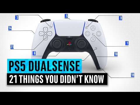 (New) Ps5 dualsense | 21 things you didnt know about the playstation 5 controller