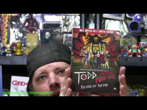 (New) Unboxing todd e the book of pure evil end of the end limited bluray dvd cd set plus season 2 dvd