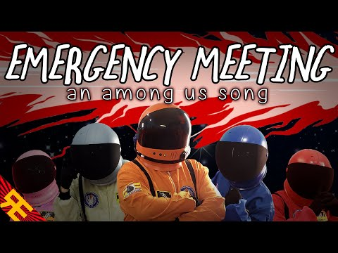 (New) Emergency meeting: an among us song [by random encounters] (feat. katie herbert e kevin clark)