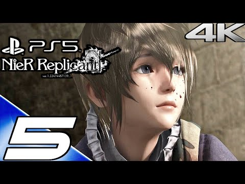 (New) Nier replicant ps5 gameplay walkthrough part 5 - jack of hearts e grimoire noir (4k 60fps) full game