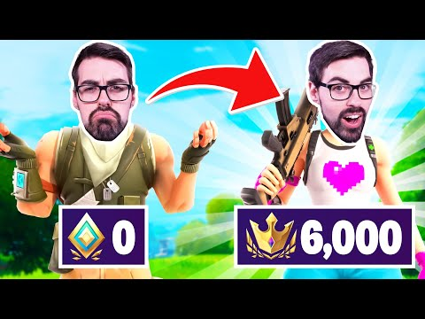 (VFHD Online) How to easily get champion division in fortnite season 6