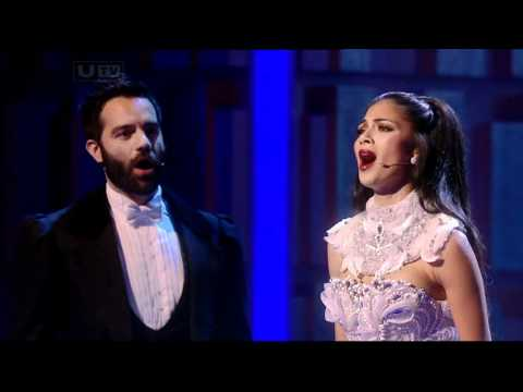 (New) Nicole scherzinger - phantom of the opera (royal variety performance - december 14)