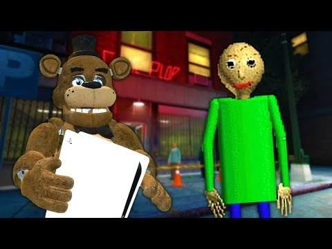 (New) Baldi chased us after we stole the ps5 in gmod! - garrys mod multiplayer survival