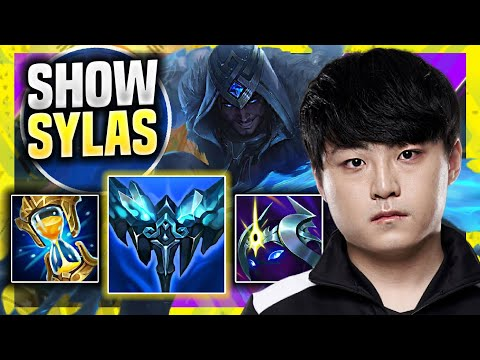 (New) Showmaker is so good with sylas top! ( msi bootcamp ) - dk showmaker plays sylas top vs sion!
