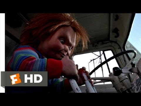 (New) Childs play 3 (1991) - taking out the trash scene (3 10) | movieclips